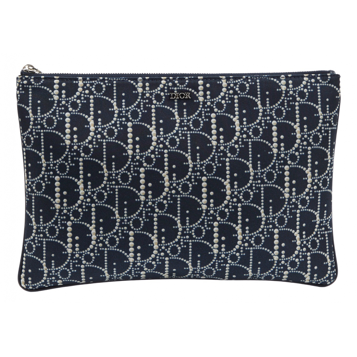Dior \N Navy Clutch bag for Women \N