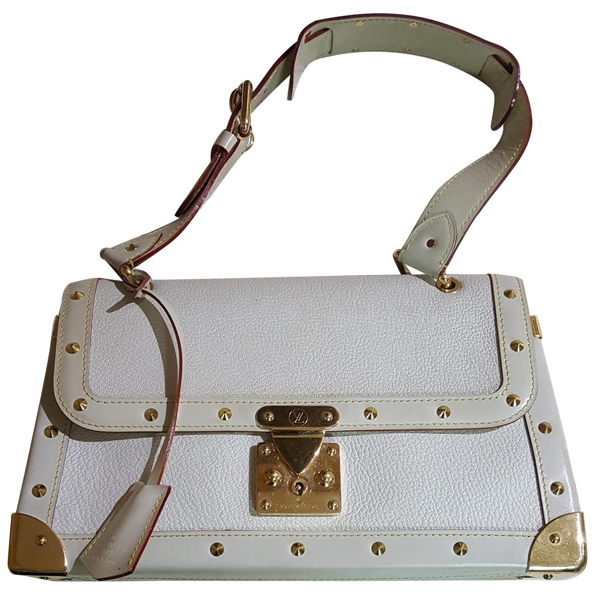 Louis Vuitton Le Fabuleux White Leather handbag for Women \N