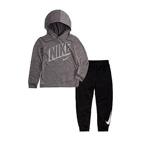 Nike Toddler Boys 2-pc. Pant Set, 3t , Black