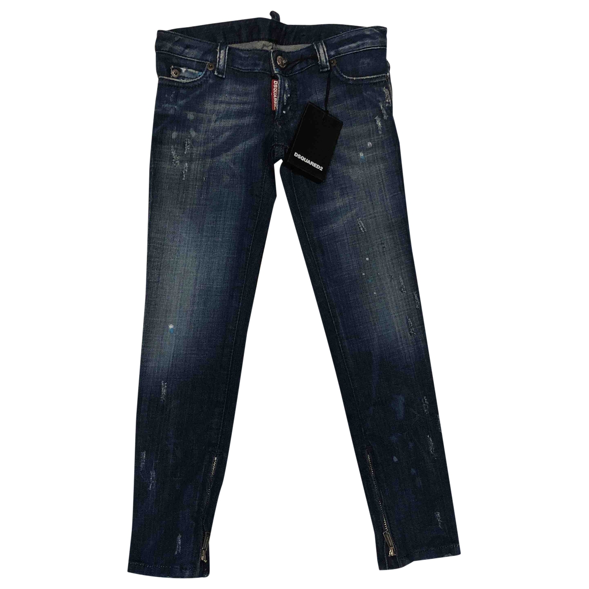 Dsquared2 \N Multicolour Denim - Jeans Trousers for Kids 6 years - up to 114cm FR