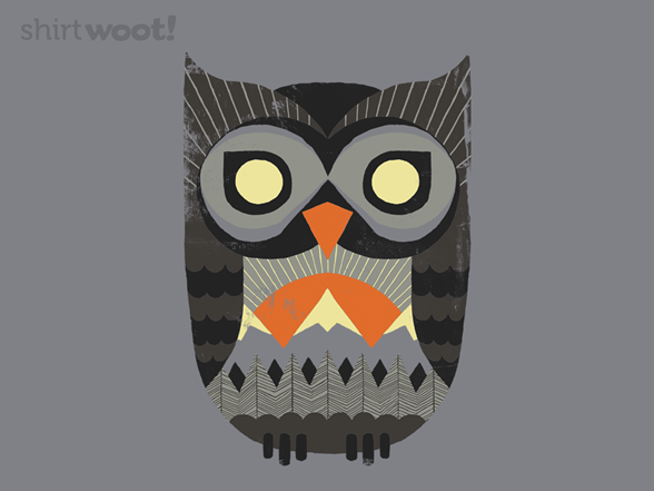 Owl Sunrise T Shirt