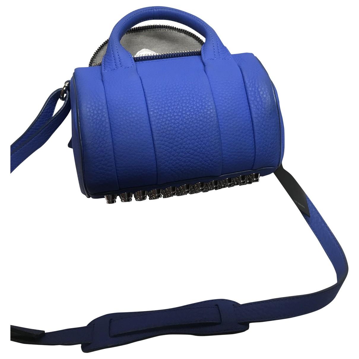 Alexander Wang Rockie Blue Leather handbag for Women \N
