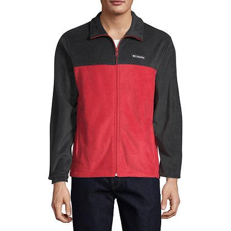 Columbia Steens Mountain Full Zip 2.0 Midweight Fleece Jacket, Large , Gray
