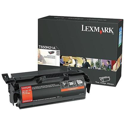Lexmark T650H21A Original Black Toner Cartridge High Yield