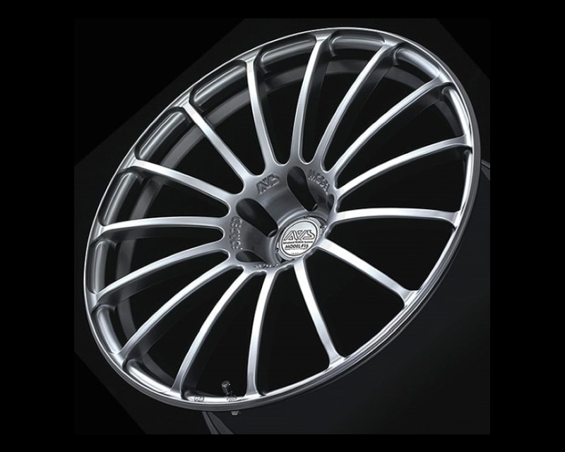 AVS Model F15 Wheel 18x8 5x112 48mm Platinum Silver