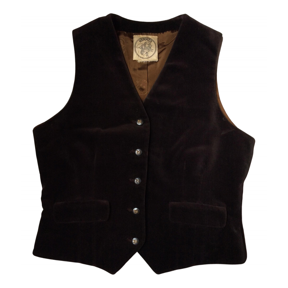 Hermès \N Brown Wool  top for Women L International
