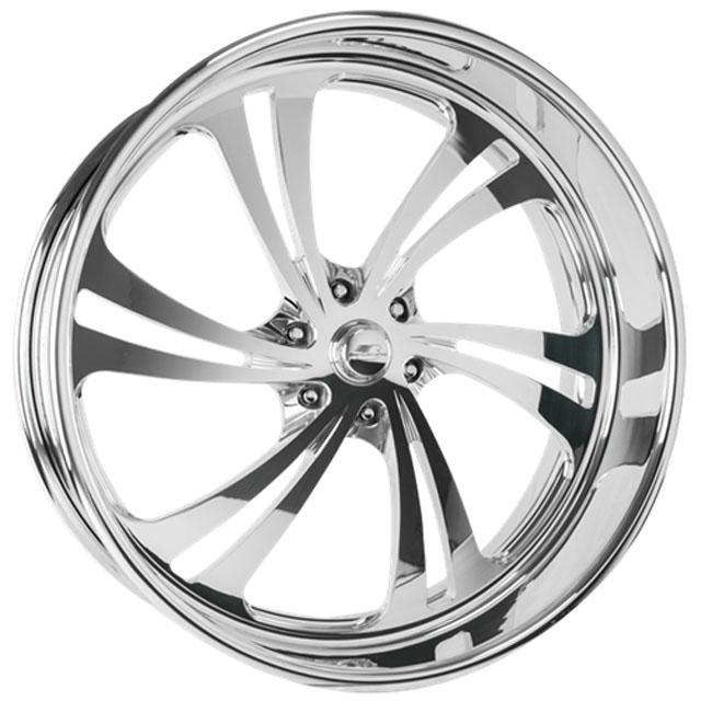 Billet Specialties SLG56910Custom Sweep 6 Wheel 19x10
