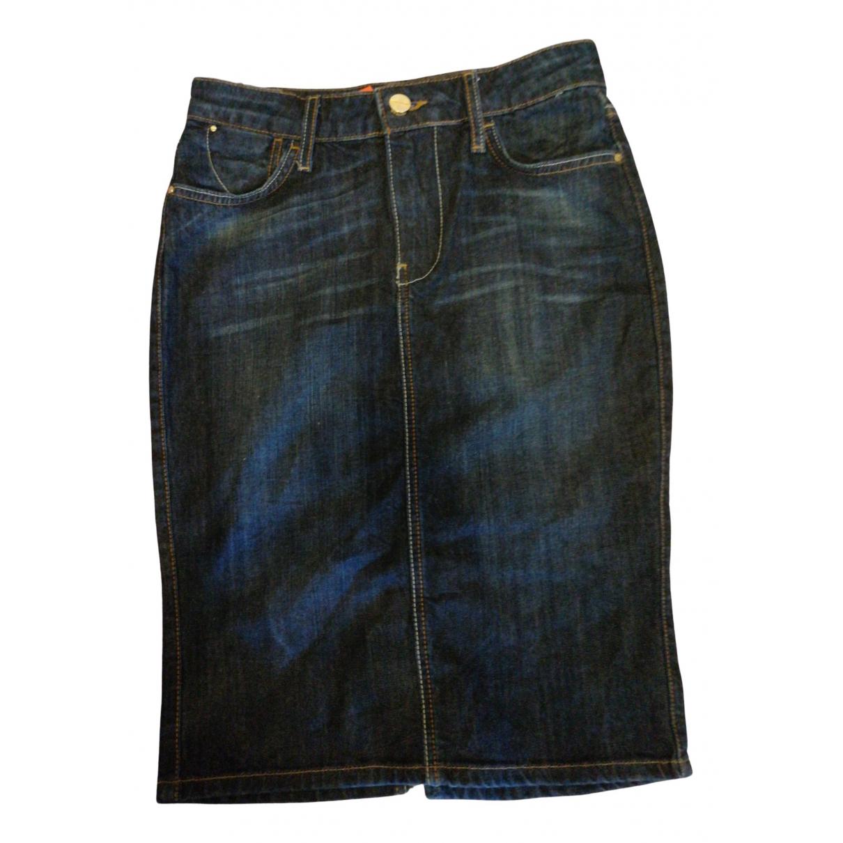 Guess \N Blue Denim - Jeans skirt for Women 40 FR
