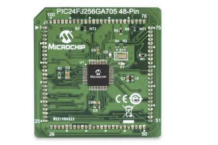 Microchip PIC24FJ256GA705 MCU Plug-in Module