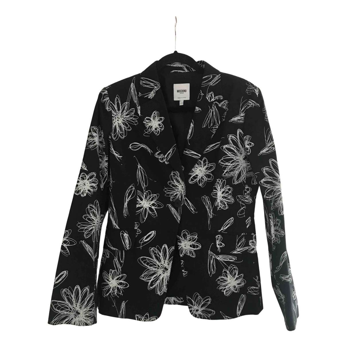 Moschino Cheap And Chic \N Black Cotton jacket for Women 16 UK