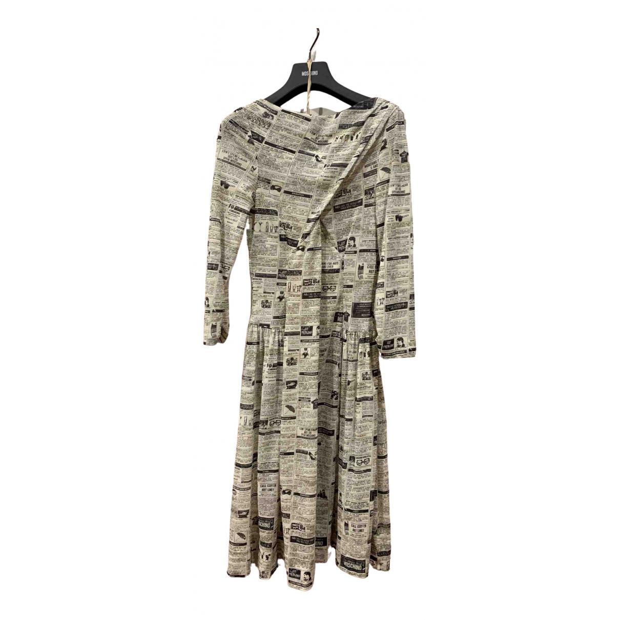 Moschino \N White dress for Women 44 IT