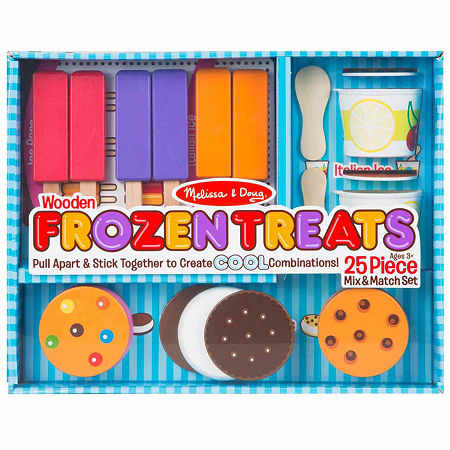 Melissa & Doug Frozen Treats Play Set, One Size , Multiple Colors