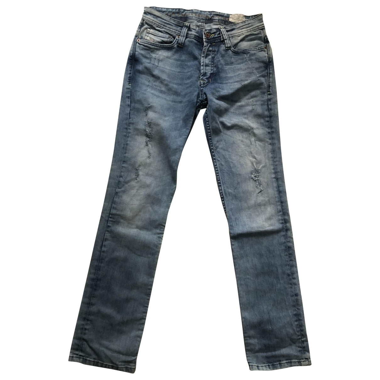 Diesel \N Blue Cotton Jeans for Men 30 US