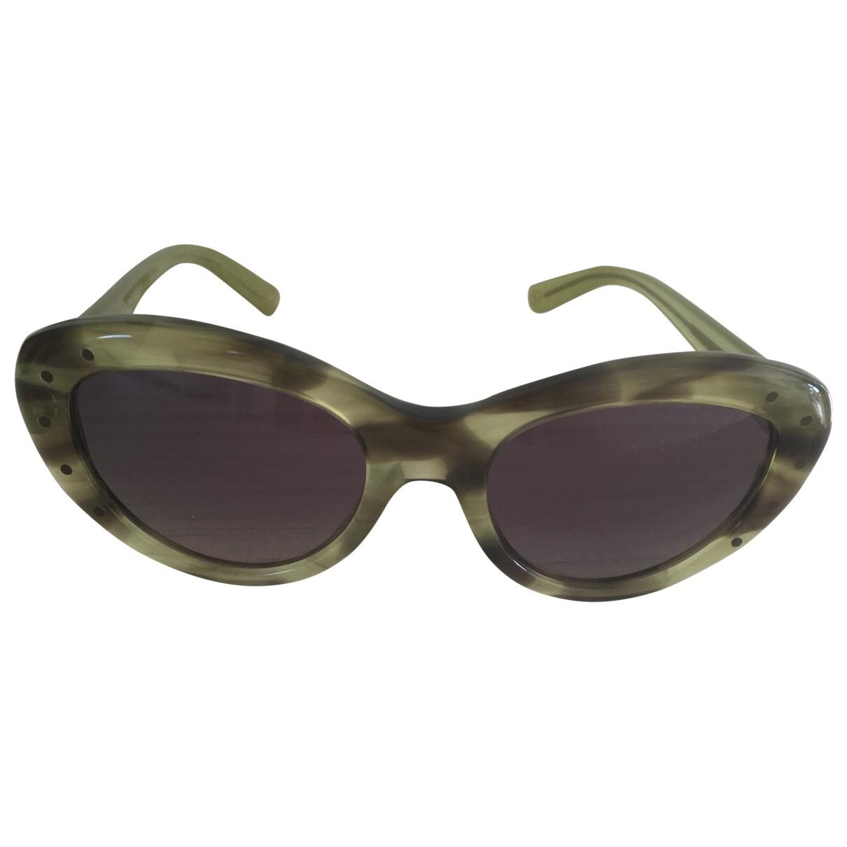 Bottega Veneta \N Green Sunglasses for Women \N