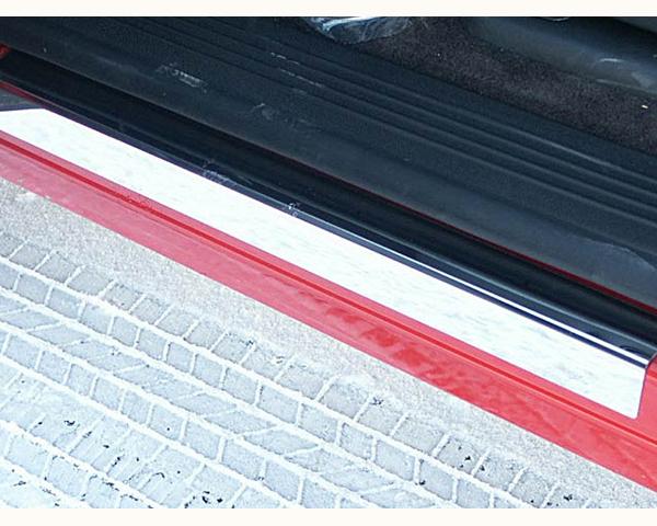 Quality Automotive Accessories 2-Piece Door Sill Trim Chevrolet Silverado 2500 2013