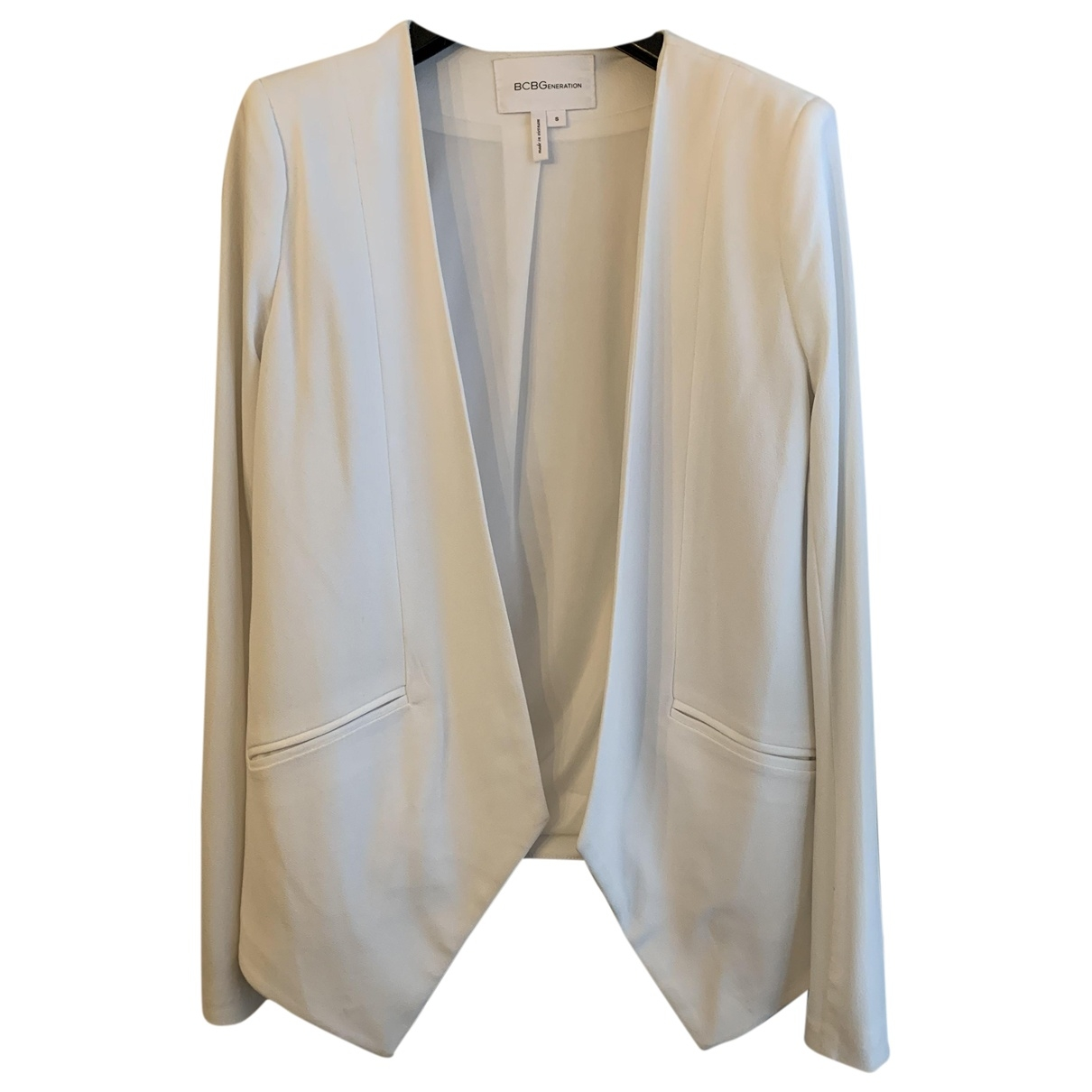 Bcbg Max Azria \N White jacket for Women S International