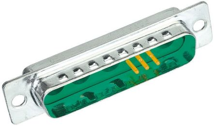 HARTING Panel Mount, 23 Pin D-sub Connector Plug, Shell Size C Mixed Contact D-Sub