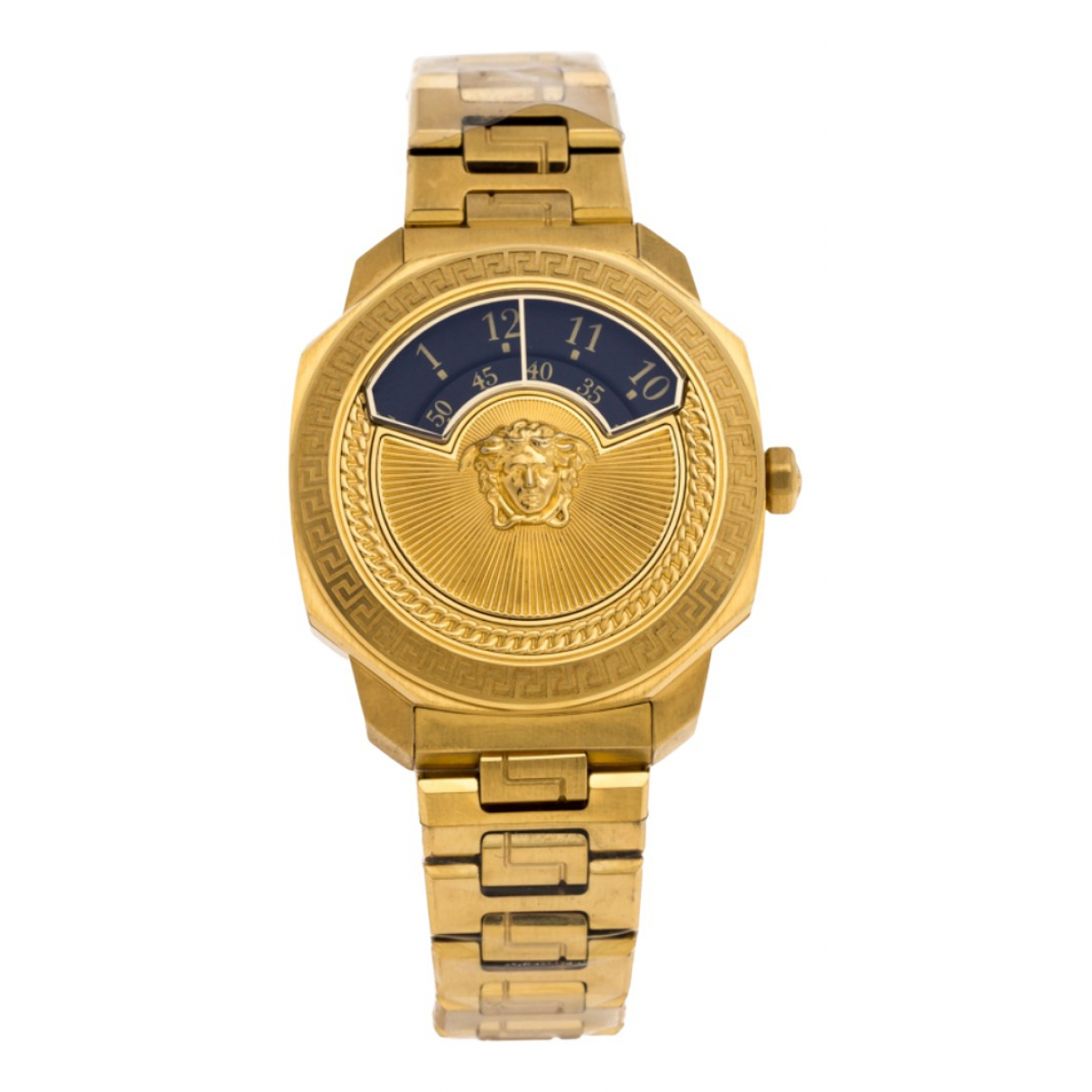 Versace \N Gold Gold plated watch for Women \N