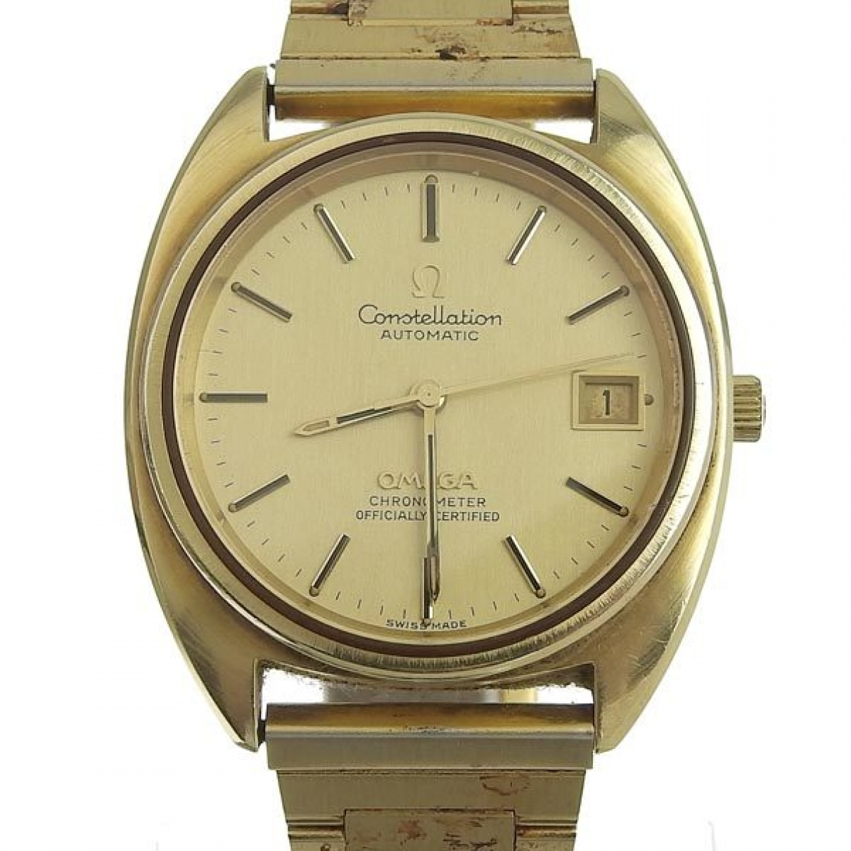 Omega Constellation Gold Gold plated watch for Men \N