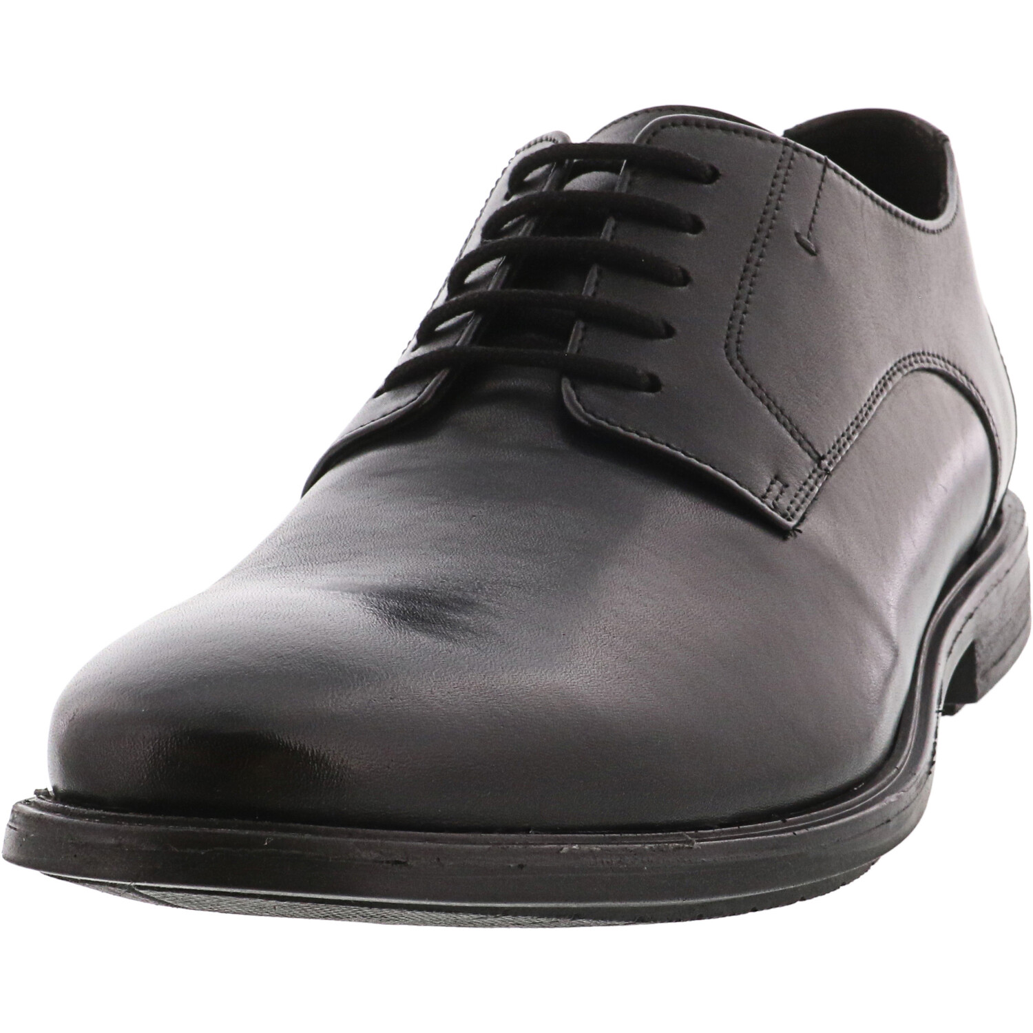 Bostonian Men's Hampshire Low Black Ankle-High Leather Oxford - 11.5M