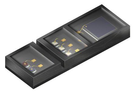 OSRAM Opto Semiconductors SFH 7060 Osram Opto, BIOFY Sensor SMT Reflective Sensor, Chip package (5)