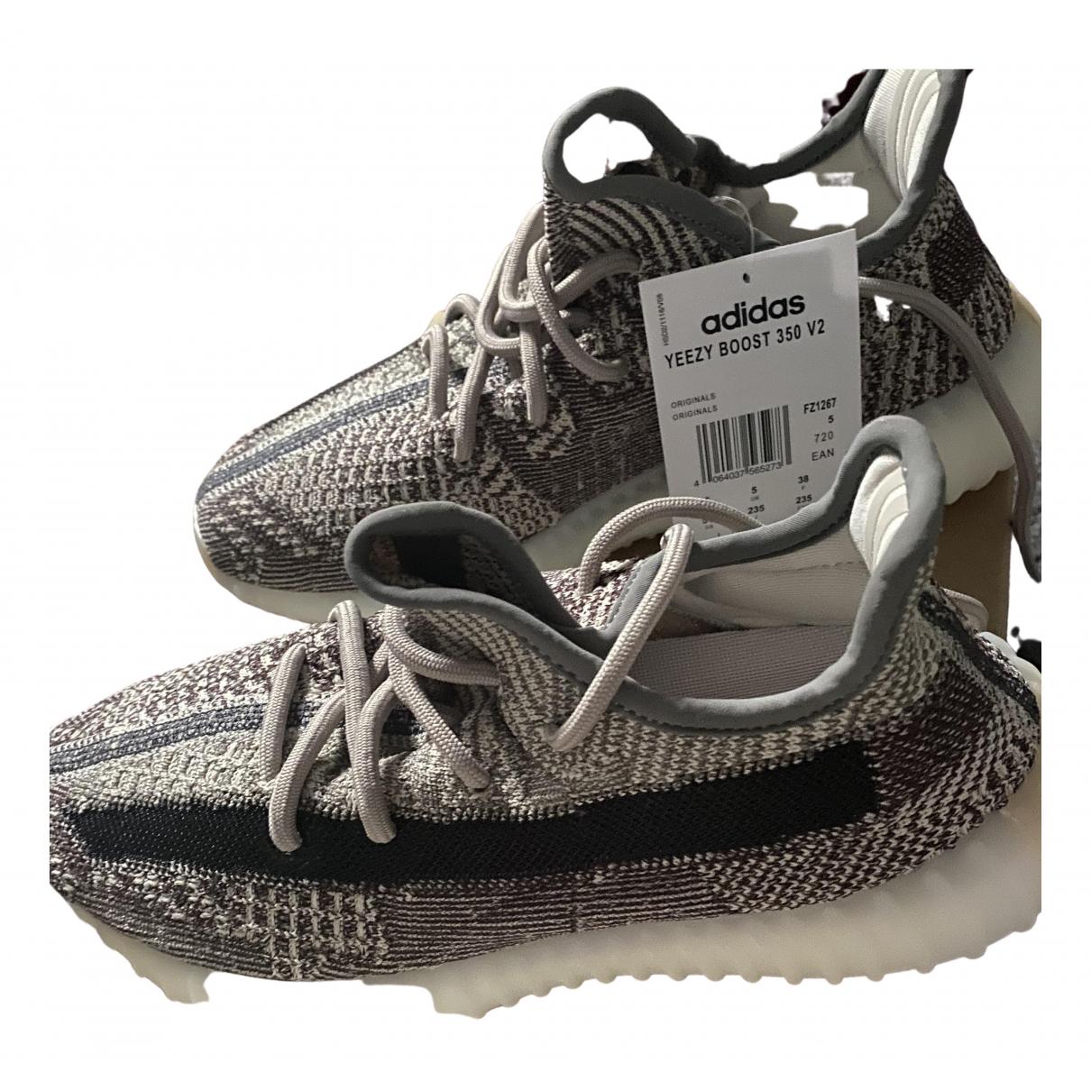 Yeezy X Adidas Boost 350 V2 Grey Cloth Trainers for Women 38 EU
