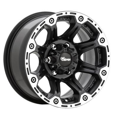 Dick Cepek Torque, 18x8.5 Wheel with 5 on 5 Bolt Pattern -(1088431) (Black) - 90000000464