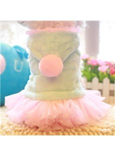 Cute Cinderella Thickened Cotton Dog Clothing