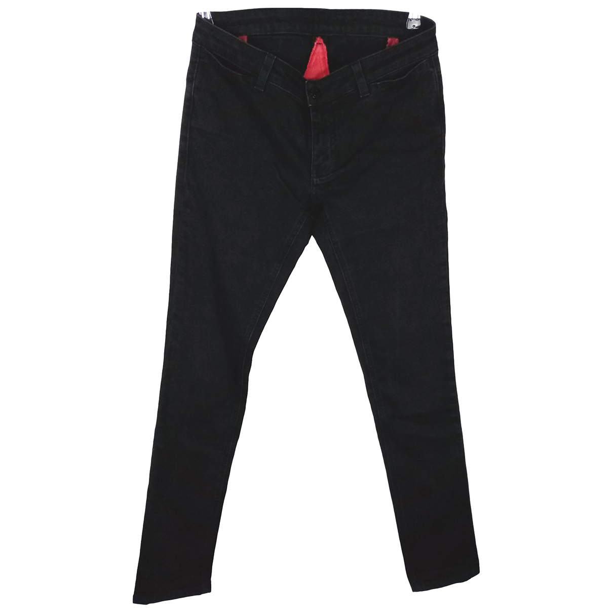 Givenchy \N Black Cotton - elasthane Jeans for Women 38 FR
