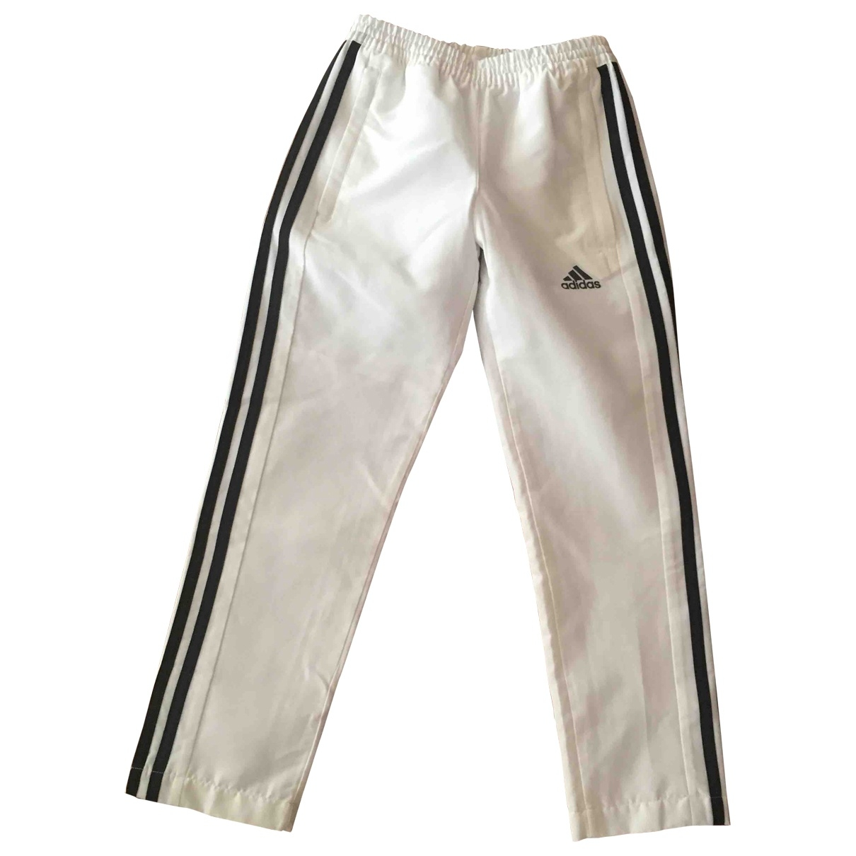Adidas \N White Trousers for Kids 8 years - up to 128cm FR