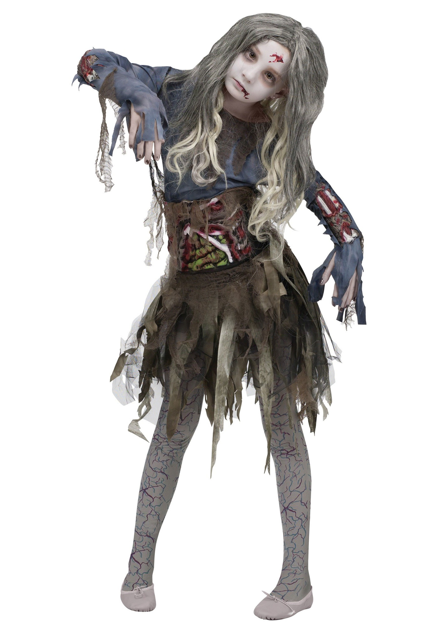 Zombie Costume for Girls
