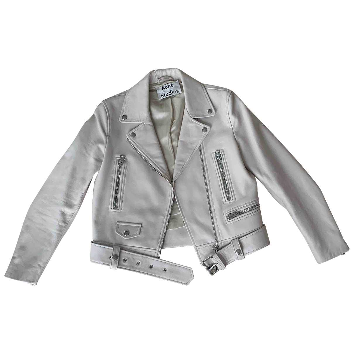 Acne Studios \N Leather Leather jacket for Women 8 UK