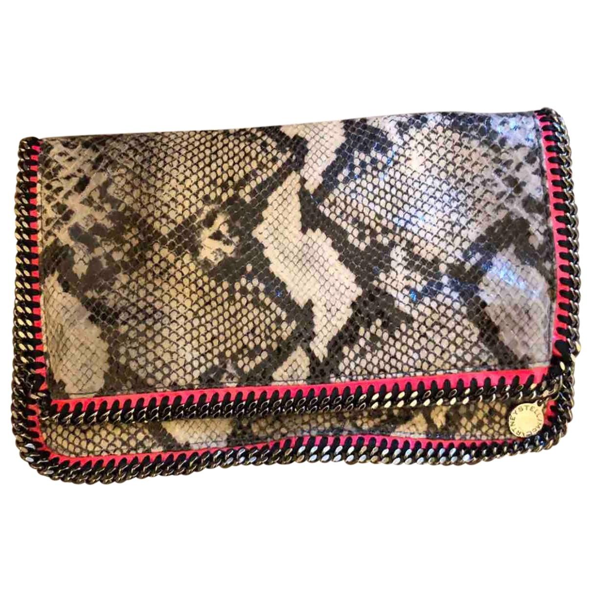 Stella Mccartney Falabella Ecru Cloth Clutch bag for Women \N