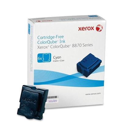 Xerox 108R00950 bâtons d'encre solide original cyan pour ColorQube 8870/8880 - 6 bâtons/paquet