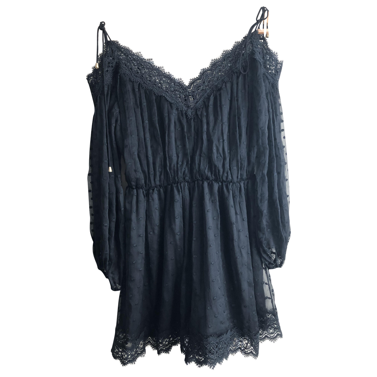 Zimmermann \N Black Silk jumpsuit for Women 0 0-5