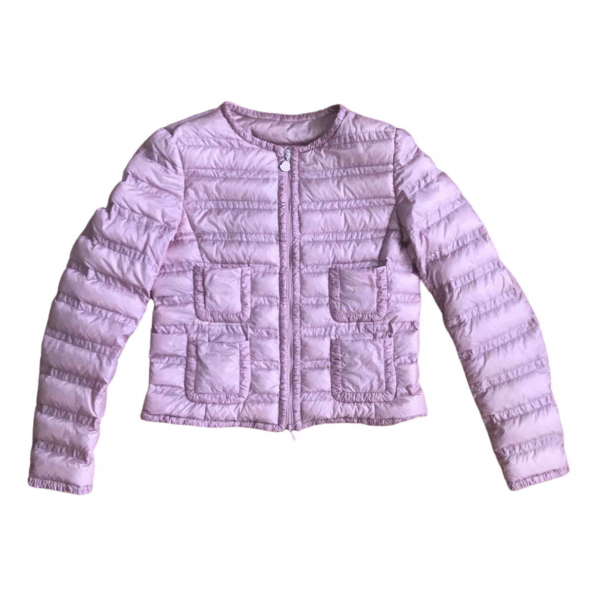 Moncler \N Pink coat for Women 0 0-5