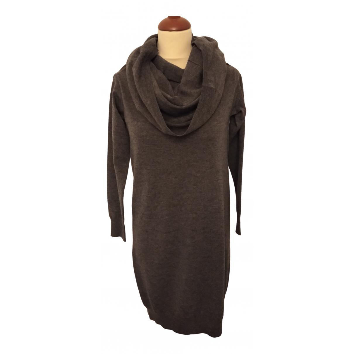 Altea \N Grey Wool dress for Women L International