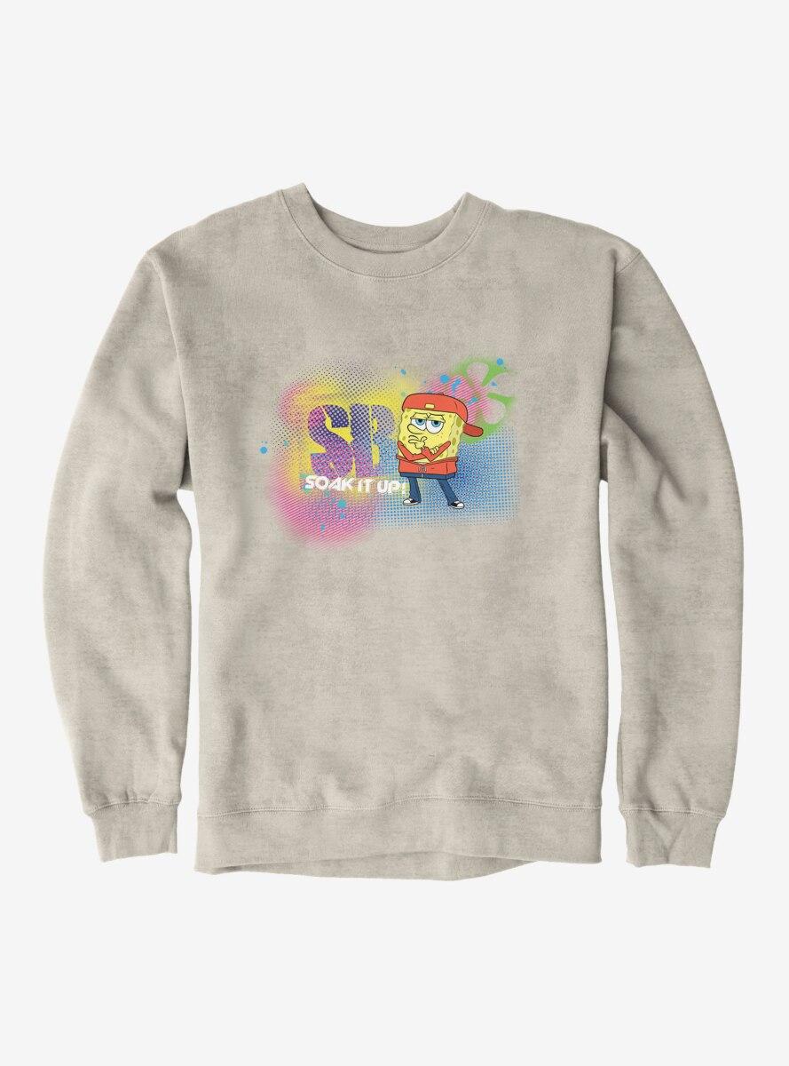 SpongeBob SquarePants Dance Crew Soak It Up Sweatshirt