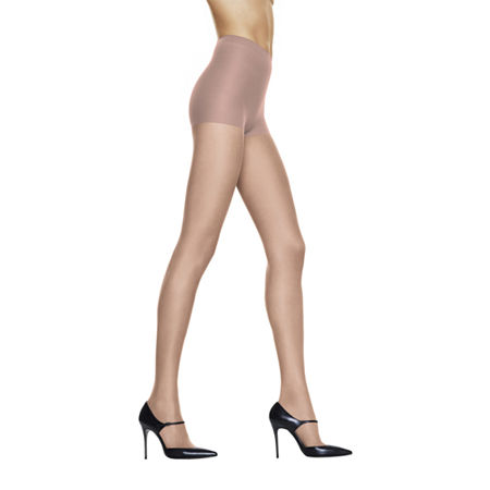 Hanes Silk Reflections Silky Sheer Control-Top Reinforced Toe Pantyhose, Ef , Beige