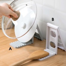 1pc Collapsible Chopping Board Rack