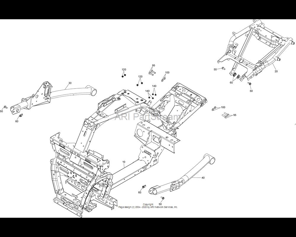 Can-AM OEM Hex. Screw M10 x 35 (Scotch Grip)
