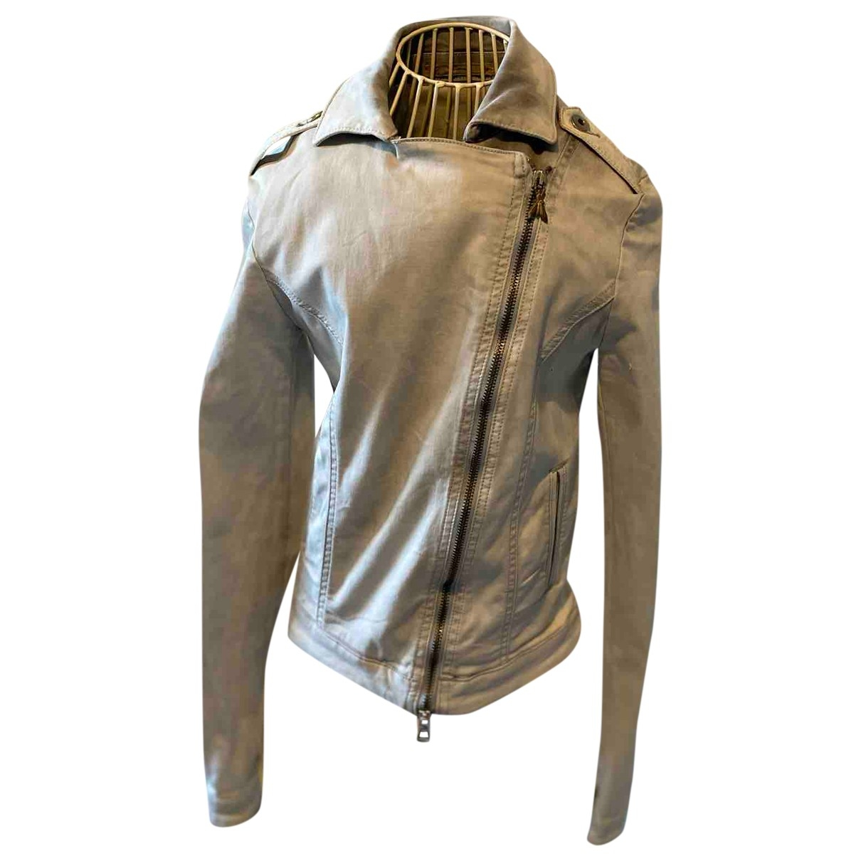 Patrizia Pepe \N Denim - Jeans jacket for Women 42 IT