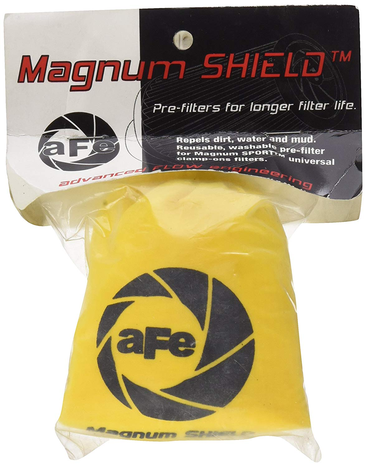 aFe Magnum SHIELD Pre-Filter For 10-20013 / 18-11405 - Yellow