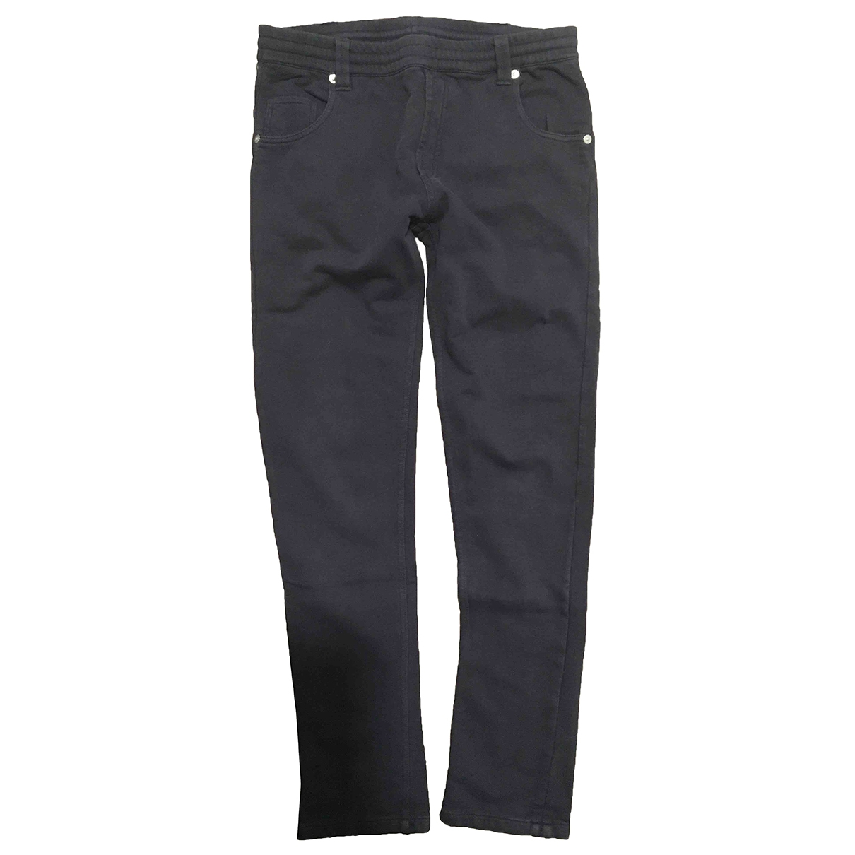 Moncler \N Navy Cotton Trousers for Kids 12 years - XS FR
