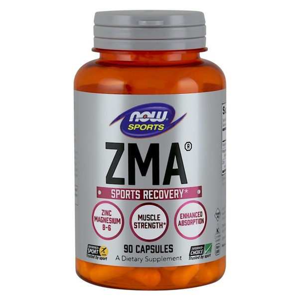 ZMA Anabolic Sports Recovery 90 Caps by Now Foods