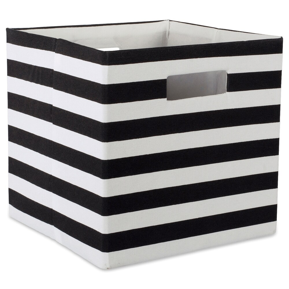 DII Polyester Decorative Storage Cube (11 x 11 x 11 inches) - 11