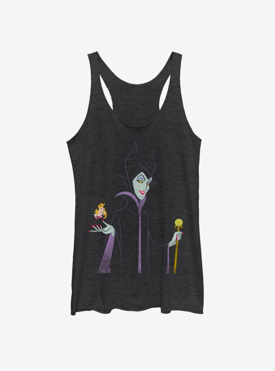 Disney Sleeping Beauty Maleficent Watch Them Burn Womens Tank Top