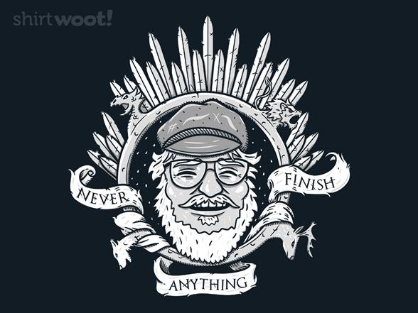 Never Finish Anything! T Shirt