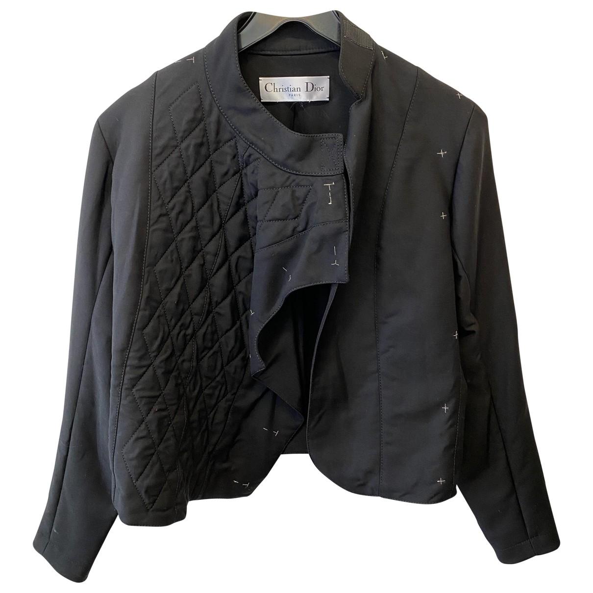 Dior \N Black Wool jacket for Women 36 FR