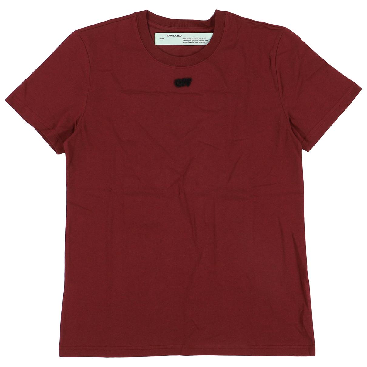 Off-white \N Burgundy Cotton  top for Women S International